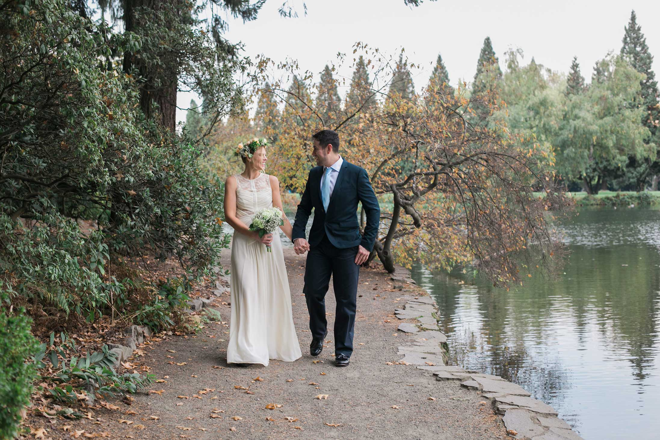 bride-and-groom-pond-gardens